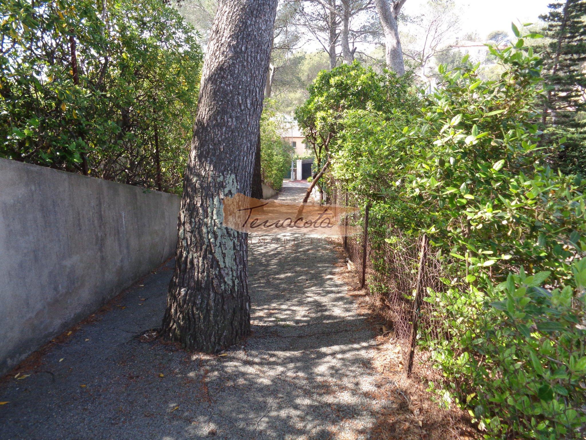 chemin piéton accès plage à 50m de la maison