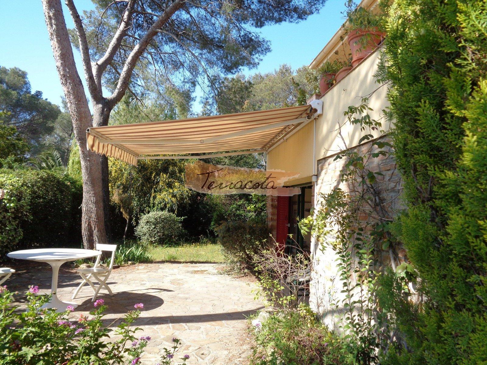 jardin, terrasse, espace de repas