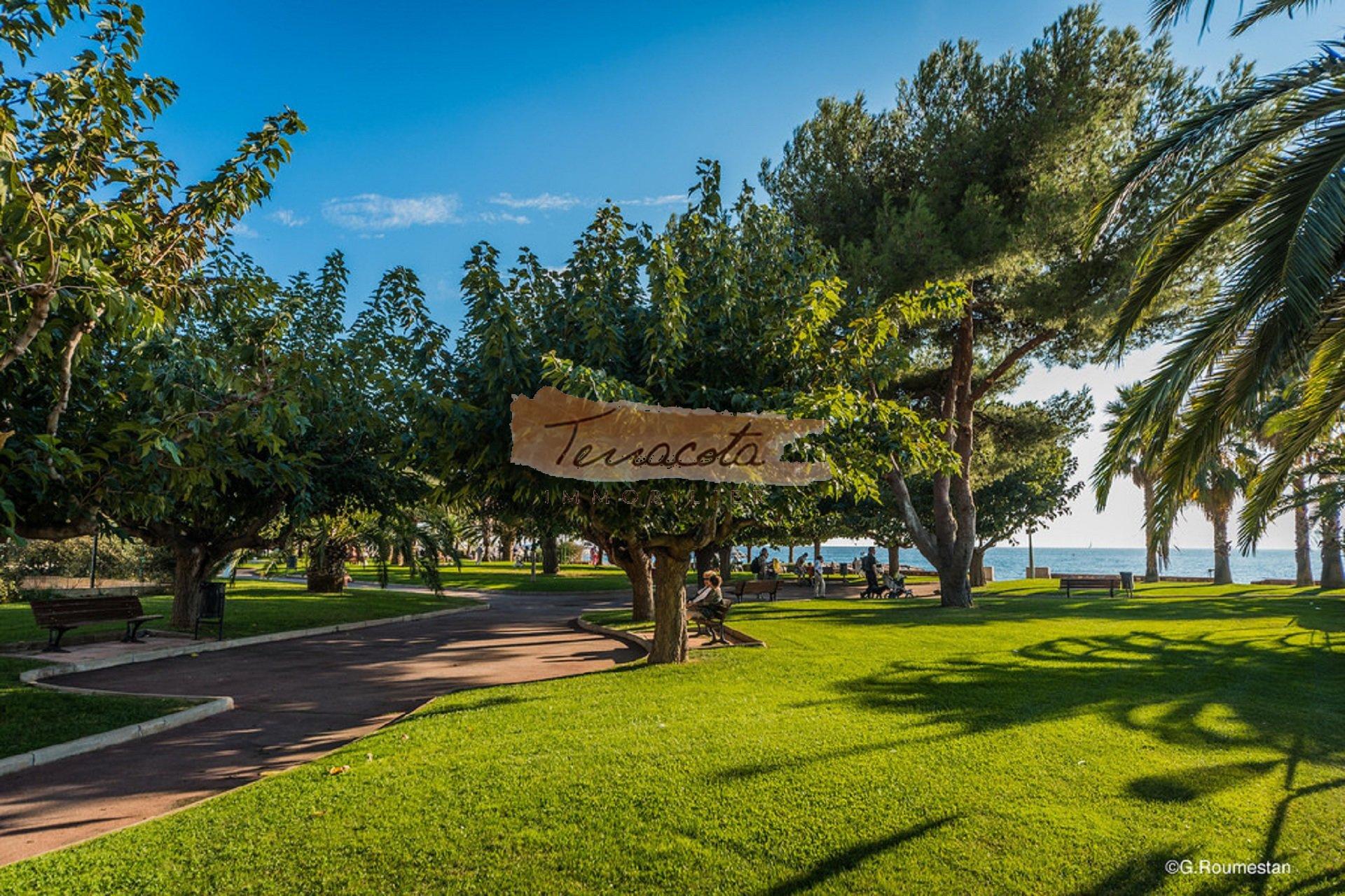 Parc bord de mer St Raphaël